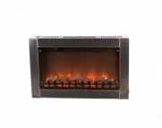 Fire Sense Stainless Steel Wall Mounted Electric Fireplace Outdoor Fireplace
