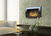 CHELSEA Wall Mount Ethanol Fireplace