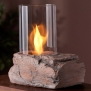 Real Flame Personal Fireplace, Red Rock