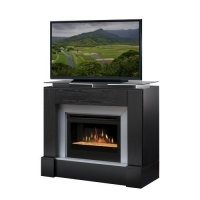 Dimplex Jasper Media Console with Electric Fireplace - Black