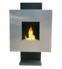Anywhere Fireplace - Tribeca Stainless Steel Ventless Fireplace