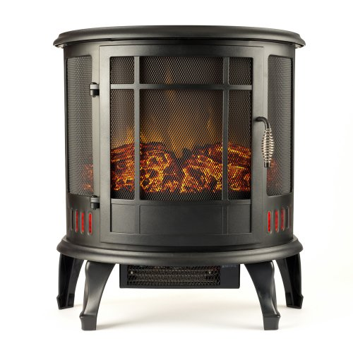 Regal Electric Fireplace E Flame Usa 25 Inch Black Portable Electric Fireplace Stove With