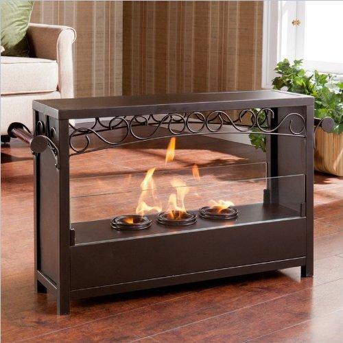 Saratoga Portable Indoor Outdoor Gel Fireplace