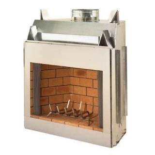 Fmi 50 Portofino Masonry Outdoor Woodburning Fireplace